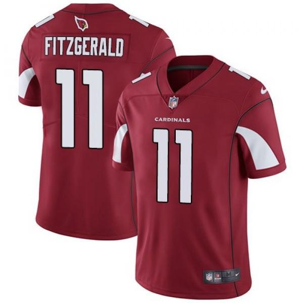 Nike Cardinals #11 Larry Fitzgerald Red Team Color Men's Stitched NFL Vapor Untouchable Limited Jersey