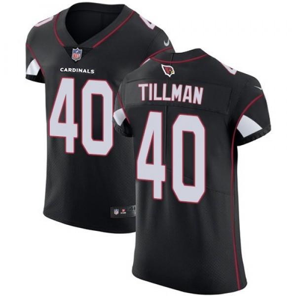 Nike Cardinals #40 Pat Tillman Black Alternate Men's Stitched NFL Vapor Untouchable Elite Jersey