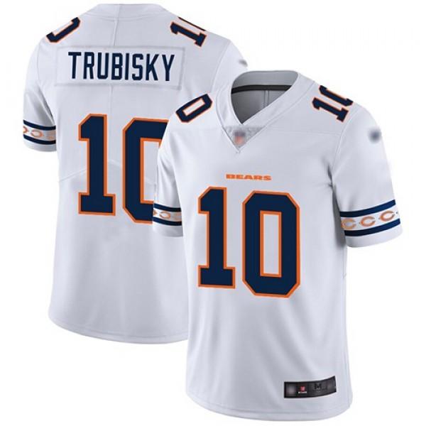 Nike Bears #10 Mitchell Trubisky White Men's Stitched NFL Limited Team Logo Fashion Jersey