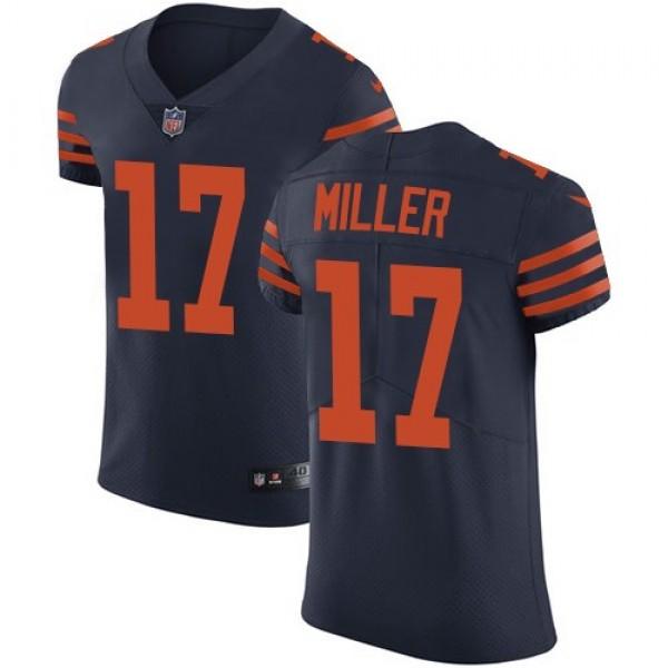 Nike Bears #17 Anthony Miller Navy Blue Alternate Men's Stitched NFL Vapor Untouchable Elite Jersey