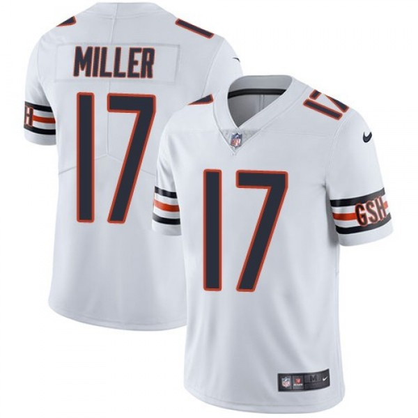 Nike Bears #17 Anthony Miller White Men's Stitched NFL Vapor Untouchable Limited Jersey