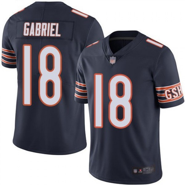 Nike Bears #18 Taylor Gabriel Navy Blue Team Color Men's Stitched NFL Vapor Untouchable Limited Jersey