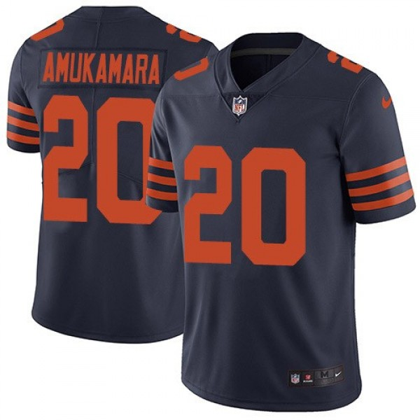 Nike Bears #20 Prince Amukamara Navy Blue Alternate Men's Stitched NFL Vapor Untouchable Limited Jersey