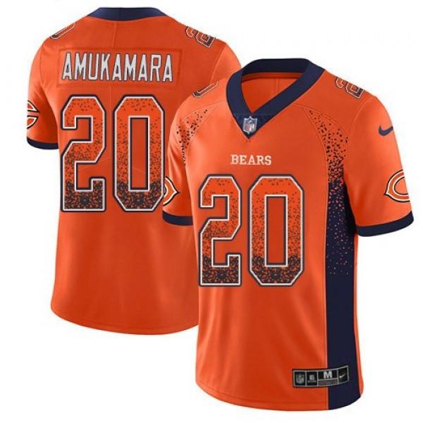 Nike Bears #20 Prince Amukamara Orange Alternate Men's Stitched NFL Limited Rush Drift Fashion Jersey