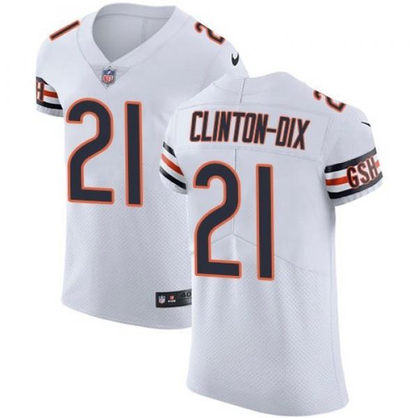 Nike Bears #21 Ha Ha Clinton-Dix White Men's Stitched NFL Vapor Untouchable Elite Jersey