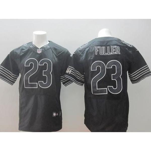 Nike Bears #23 Kyle Fuller Black Shadow Men's Stitched NFL Elite Jersey