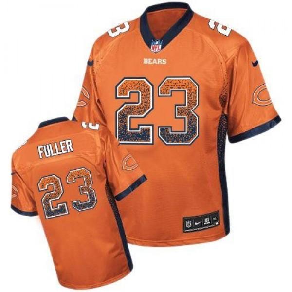 Nike Bears #23 Kyle Fuller Orange Alternate Men's Stitched NFL Elite Drift Fashion Jersey