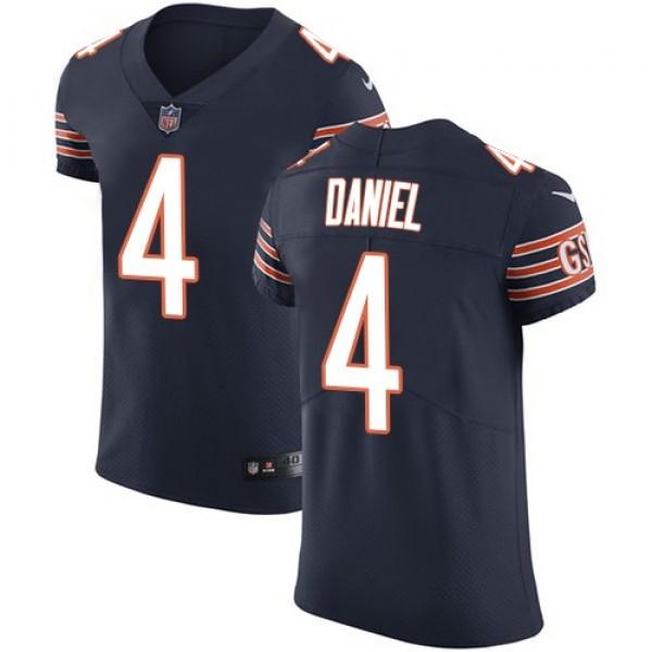 Nike Bears #4 Chase Daniel Navy Blue Team Color Men's Stitched NFL Vapor Untouchable Elite Jersey