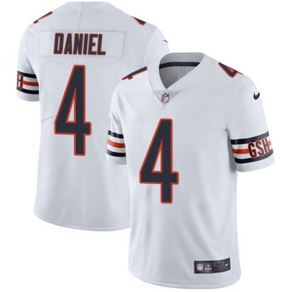 Nike Bears #4 Chase Daniel White Men's Stitched NFL Vapor Untouchable Limited Jersey
