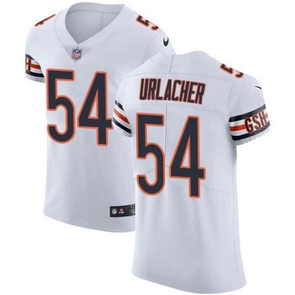 Nike Bears #54 Brian Urlacher White Men's Stitched NFL Vapor Untouchable Elite Jersey