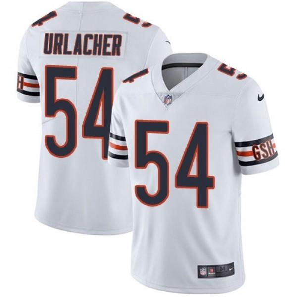 Nike Bears #54 Brian Urlacher White Men's Stitched NFL Vapor Untouchable Limited Jersey