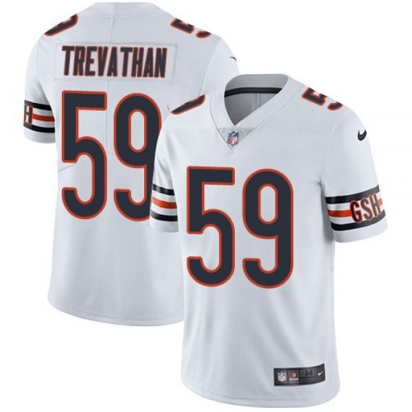 Nike Bears #59 Danny Trevathan White Men's Stitched NFL Vapor Untouchable Limited Jersey