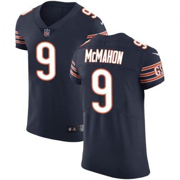 Nike Bears #9 Jim McMahon Navy Blue Team Color Men's Stitched NFL Vapor Untouchable Elite Jersey
