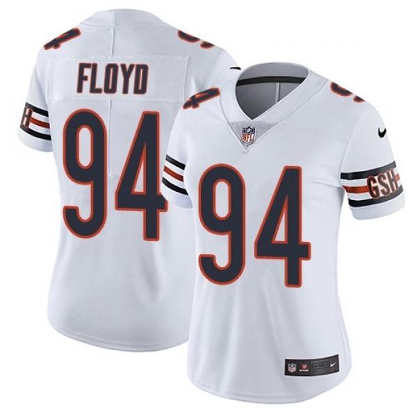 Women's Bears #94 Leonard Floyd White Stitched NFL Vapor Untouchable Limited Jersey