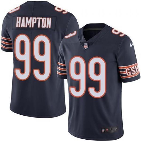 Nike Bears #99 Dan Hampton Navy Blue Team Color Men's Stitched NFL Vapor Untouchable Limited Jersey
