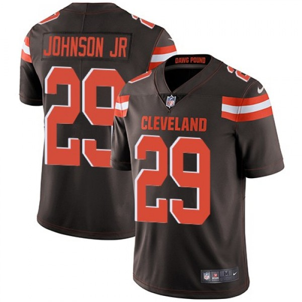 Nike Browns #29 Duke Johnson Jr Brown Team Color Men's Stitched NFL Vapor Untouchable Limited Jersey