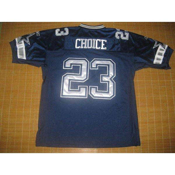 Cowboys #23 Tashard Choice Blue Stitched NFL Jersey