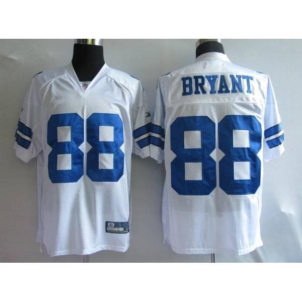 Cowboys #88 Dez Bryant White Stitched NFL Jersey