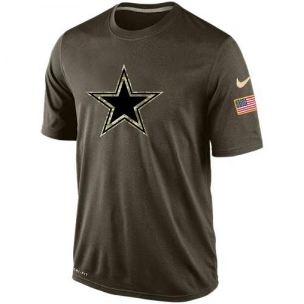 Men's Dallas Cowboys Salute To Service Nike Dri-FIT T-Shirt