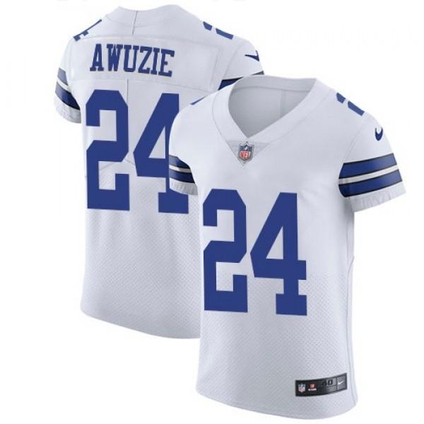 Nike Cowboys #24 Chidobe Awuzie White Men's Stitched NFL Vapor Untouchable Elite Jersey
