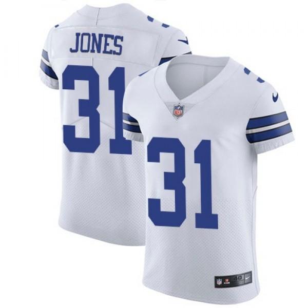 Nike Cowboys #31 Byron Jones White Men's Stitched NFL Vapor Untouchable Elite Jersey