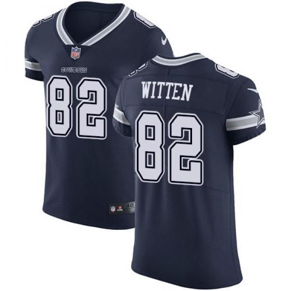Nike Cowboys #82 Jason Witten Navy Blue Team Color Men's Stitched NFL Vapor Untouchable Elite Jersey