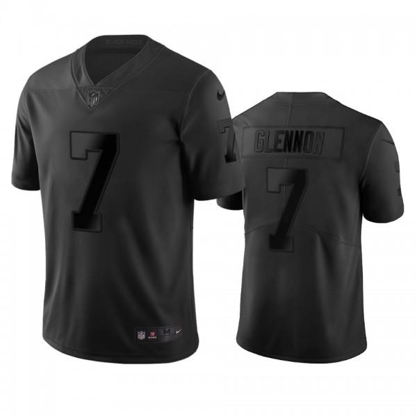 Las Vegas Raiders #7 Mike Glennon Black Vapor Limited City Edition NFL Jersey