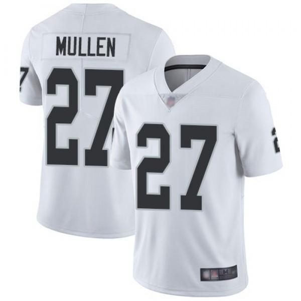 Nike Raiders #27 Trayvon Mullen White Men's Stitched NFL Vapor Untouchable Limited Jersey