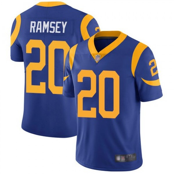 Nike Rams #20 Jalen Ramsey Royal Blue Alternate Men's Stitched NFL Vapor Untouchable Limited Jersey