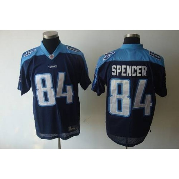 Titans #84 Owen Spencer Dark Blue Stitched NFL Jersey